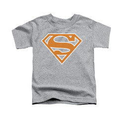 Image for Superman Toddler T-Shirt - Burnt Orange&white Shield