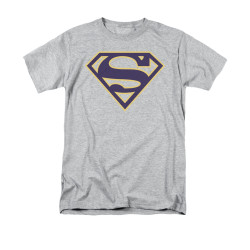 Image for Superman T-Shirt - Navy & Gold Shield
