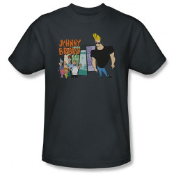 Image Closeup for Johnny Bravo Johnny & Friends T-Shirt