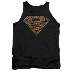 Image for Superman Tank Top - Aztec Shield