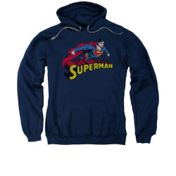 Image for Superman Hoodie - Flying Over