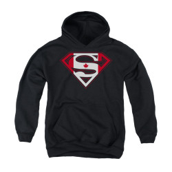 Image for Superman Youth Hoodie - Canadian Shield