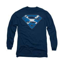 Image for Superman Long Sleeve Shirt - Scottish Shield
