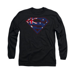Image for Superman Long Sleeve Shirt - Australian Shield