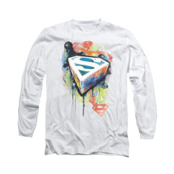Image for Superman Long Sleeve Shirt - Urban Shields