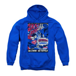 Image for Superman Youth Hoodie - Meltdown