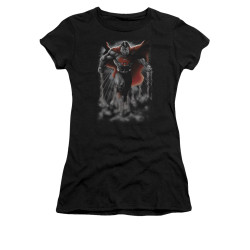 Image for Superman Girls T-Shirt - Above The Clouds