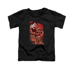 Image for Superman Toddler T-Shirt - Supes Vs Darkseid