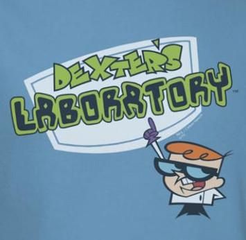 Image for Dexter's Laboratory Logo T-Shirt