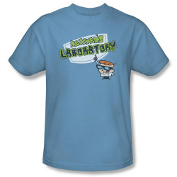 Image Closeup for Dexter's Laboratory Logo T-Shirt