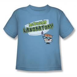 Image for Dexter's Laboratory Logo Kids T-Shirt