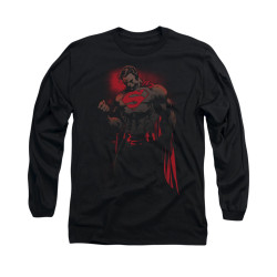 Image for Superman Long Sleeve Shirt - Red Son