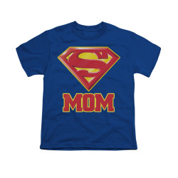 Image for Superman Youth T-Shirt - Super Mom