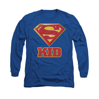 Image for Superman Long Sleeve Shirt - Super Kid