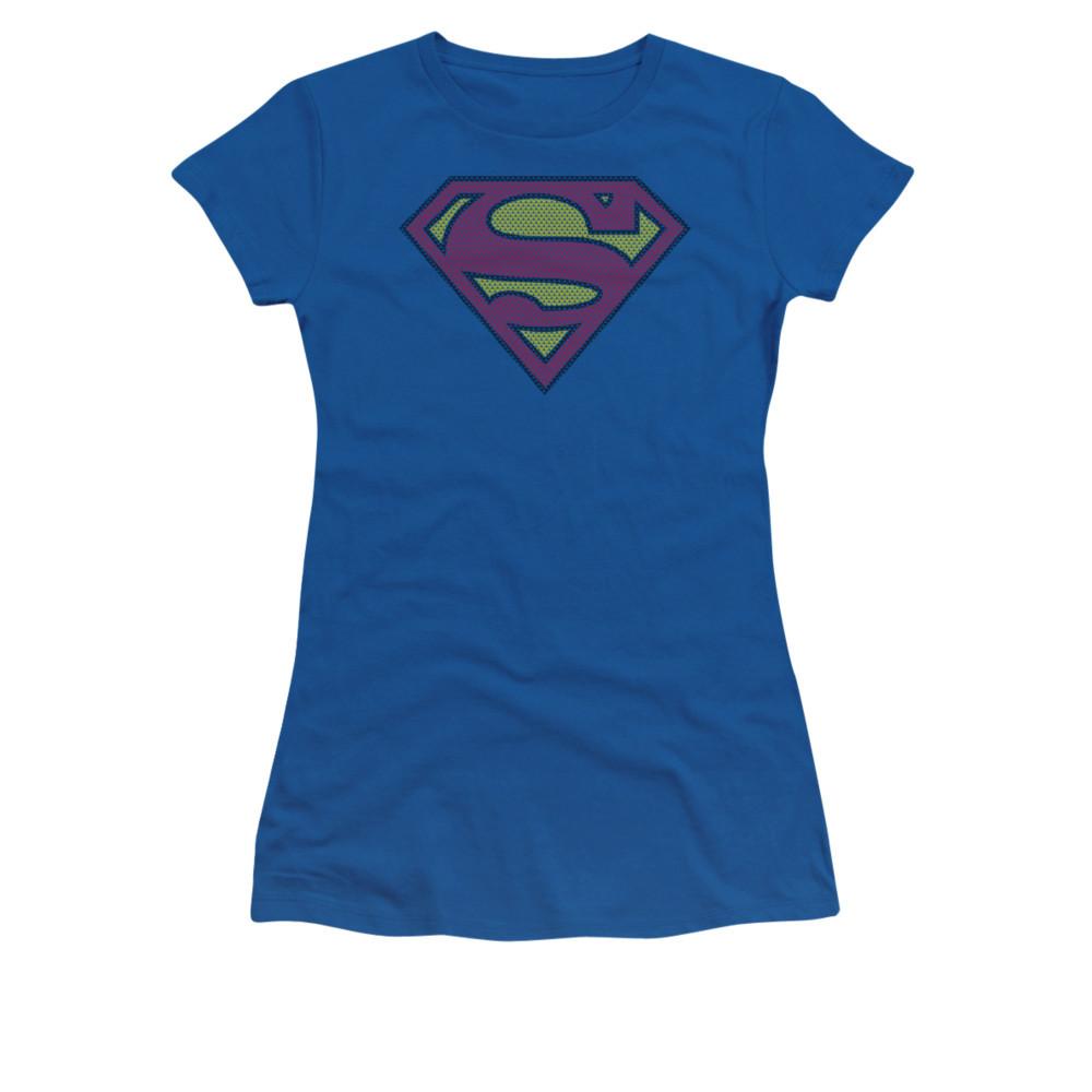 5fce6ca4f36ac Superman Girls T-Shirt - Little Logos - NerdKungFu