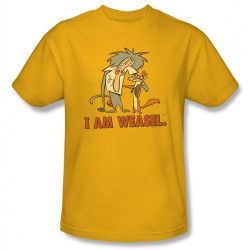 Image Closeup for I am Weasel Buddies T-Shirt