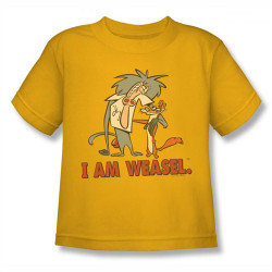 Image for I am Weasel Buddies Kids T-Shirt