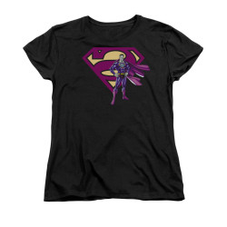 Image for Superman Womans T-Shirt - Bizarro & Logo