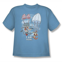 Image for I am Weasel Sky Diving Youth T-Shirt