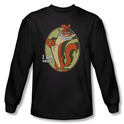 Image for I am Weasel Smug Long Sleeve T-Shirt