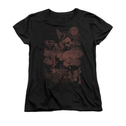Image for Superman Womans T-Shirt - Somber Power