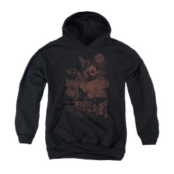 Image for Superman Youth Hoodie - Somber Power