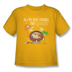 Image for Fosters Home for Imaginary Friends All My Best Friends Kids T-Shirt