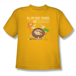 Image for Fosters Home for Imaginary Friends All My Best Friends Youth T-Shirt