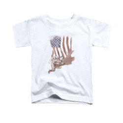 Image for Superman Toddler T-Shirt - Super American