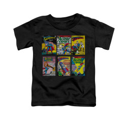 Image for Superman Toddler T-Shirt - Sm Covers