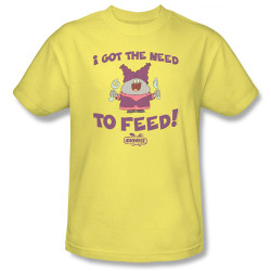 Image Closeup for Chowder Need to Feed T-Shirt