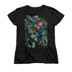 Image for Superman Womans T-Shirt - Indestructible