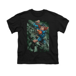 Image for Superman Youth T-Shirt - Indestructible