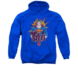 Image for Superman Hoodie - Steel Pop