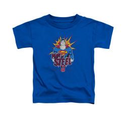 Image for Superman Toddler T-Shirt - Steel Pop