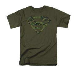 Image for Superman T-Shirt - Marine Camo Shield