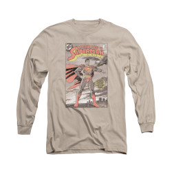 Image for Superman Long Sleeve Shirt - Taos Cover