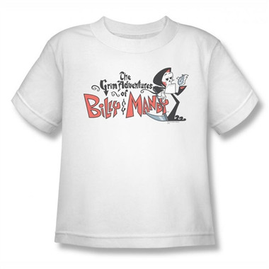 Image for Grim Adventures of Billy and Mandy Logo Kids T-Shirt