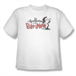 Image for Grim Adventures of Billy and Mandy Logo Youth T-Shirt