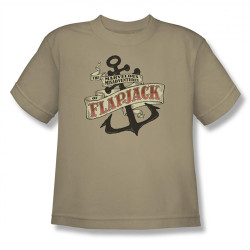 Image for Misadventures of Flapjack Anchor Youth T-Shirt