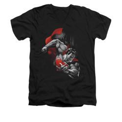 Image for Superman V Neck T-Shirt - My City