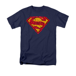 Image for Superman T-Shirt - Shattered Shield
