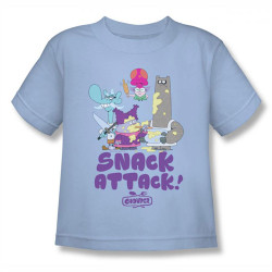 Image for Chowder Snack Attack Kids T-Shirt