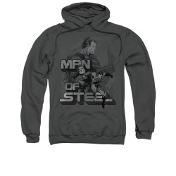 Image for Superman Hoodie - Steel Poses