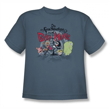 Image for Grim Adventures of Billy and Mandy Group Shot Youth T-Shirt