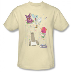 Image Closeup for Chowder Dots Collage T-Shirt