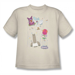 Image for Chowder Dots Collage Youth T-Shirt