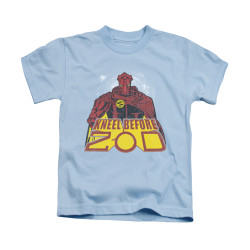 Image for Superman Kids T-Shirt - Kneel Before
