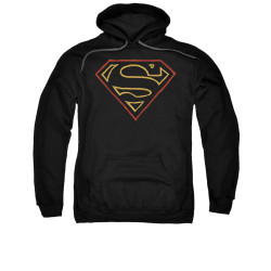 Image for Superman Hoodie - Colored Shield