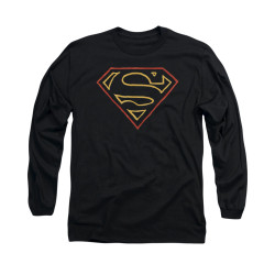 Image for Superman Long Sleeve Shirt - Colored Shield